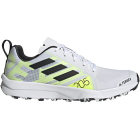 adidas TERREX Speed Flow Trail Running Shoes Women, feather white/core black/solar yellow
